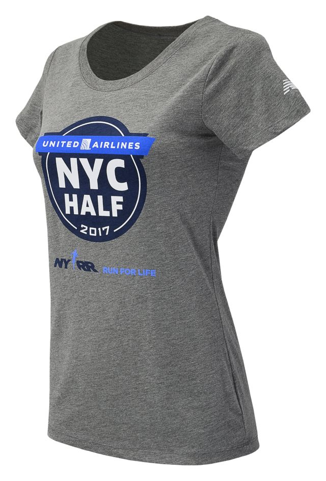 United NYC Half Official Tee