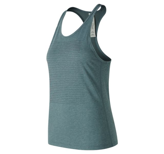Women's Graphic Heather Tech Racerback
