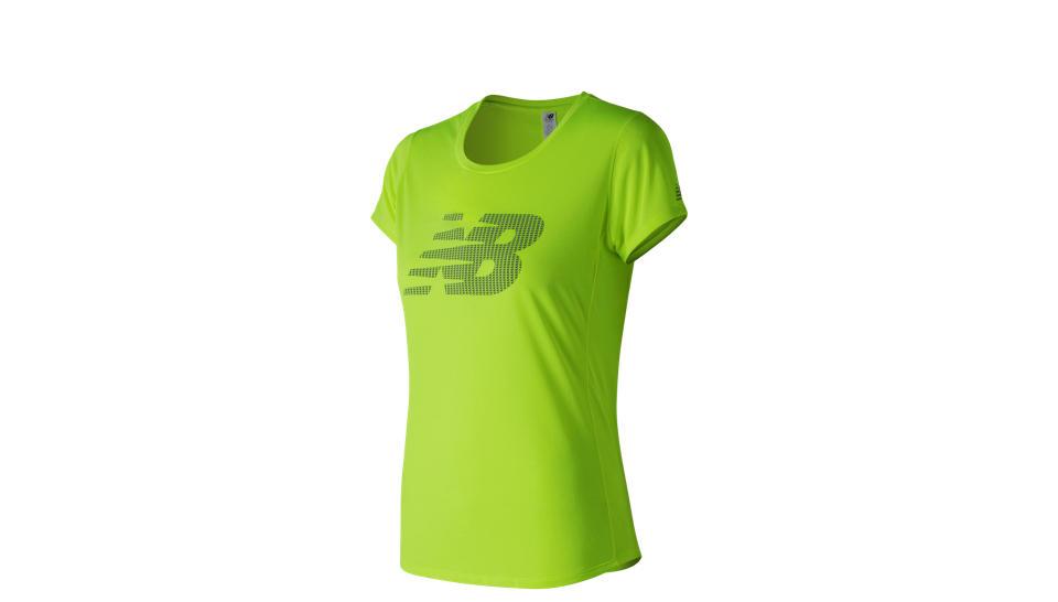 camiseta de mujer accelerate new balance