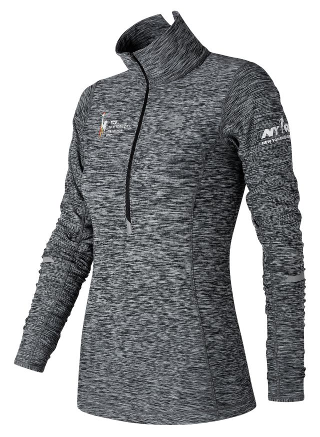 Women's NYC Marathon NYC In Transit Half Zip