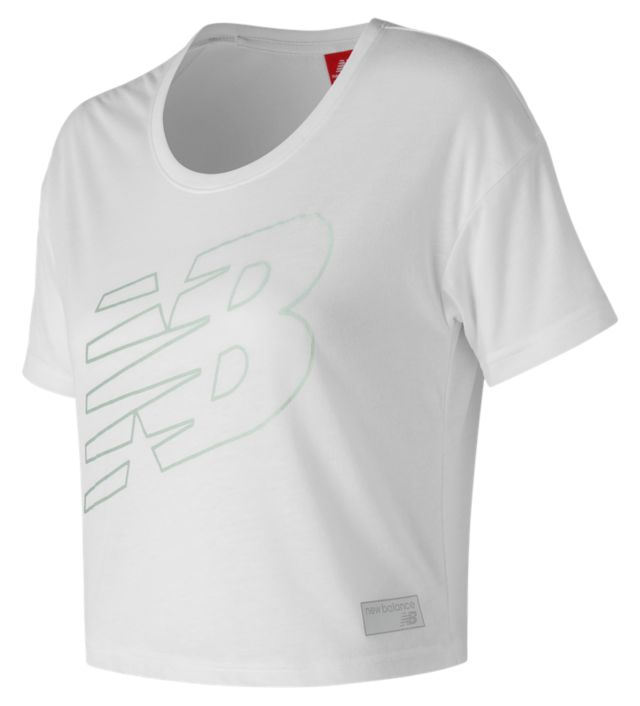 NB Athletics Cropped Tee