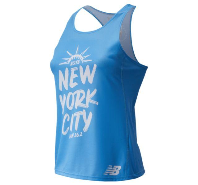 Women's 2018 NYC Marathon Singlet