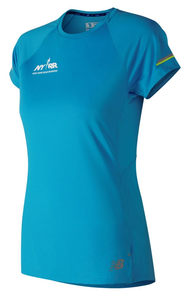 Women's Run for Life Printed  NB Ice 2.0 Short Sleeve