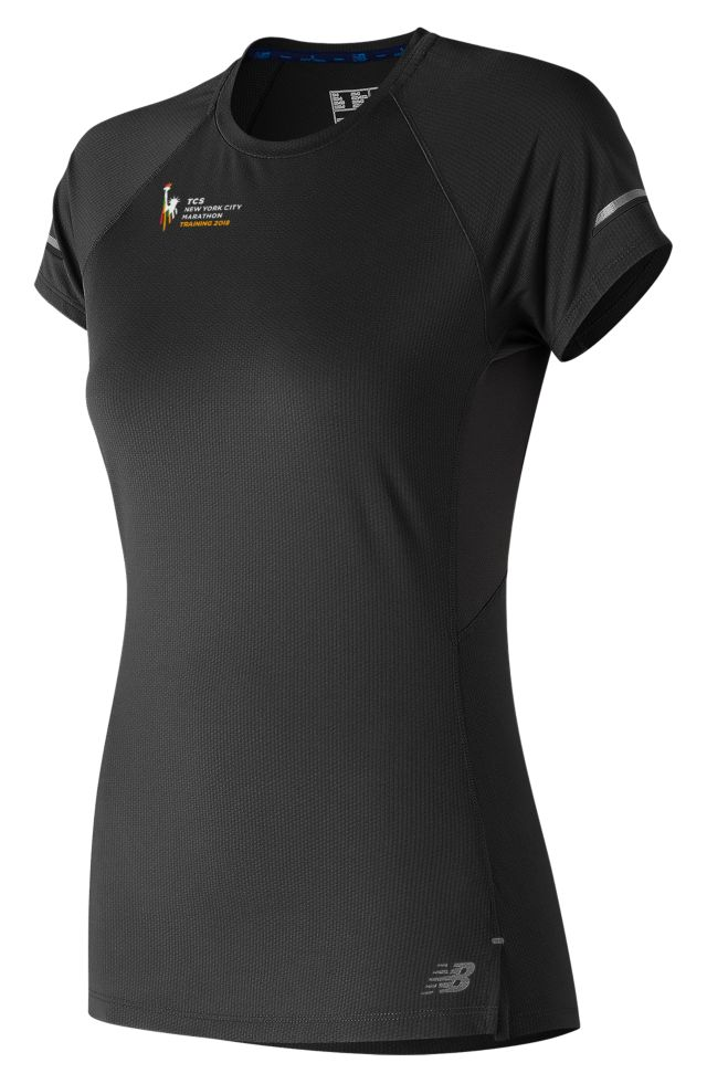 Women's NYC Marathon NB Ice 2.0 Short Sleeve
