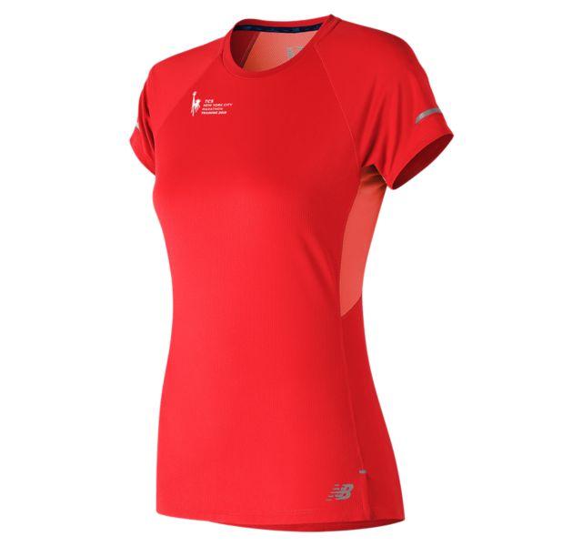 Women's NYC Marathon NB Ice 2.0 Short Sleeve