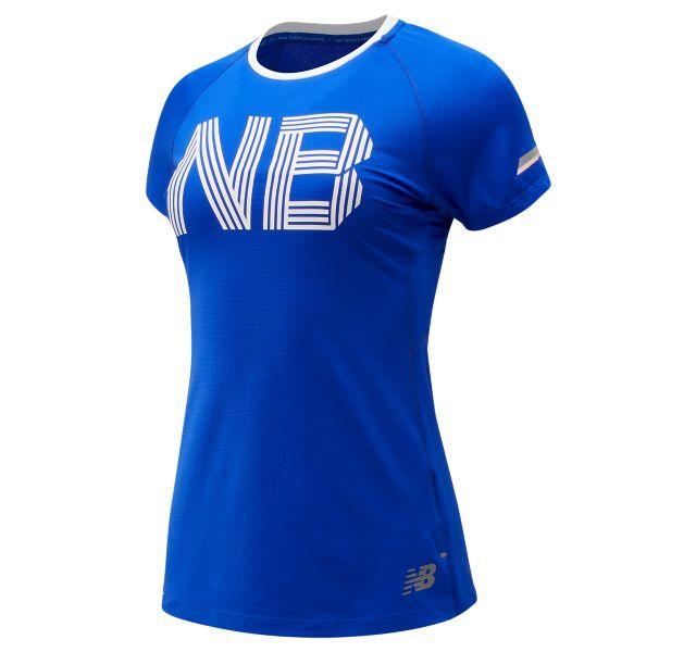 Women's Printed NB Ice 2.0 Short Sleeve