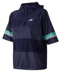Women's NB Athletics Short Sleeve Windbreaker Pull Over