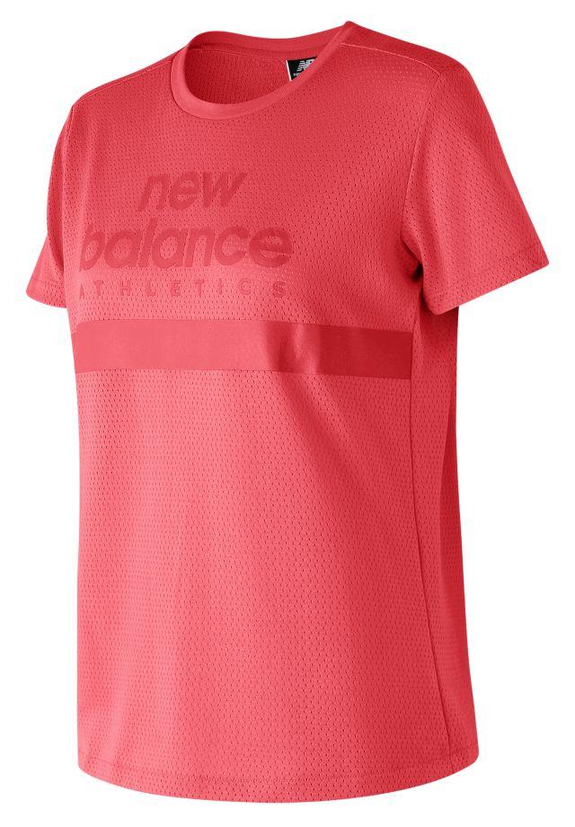 Women's NB Athletics Mesh Tee