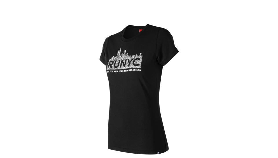 03ca6458cb3 Camiseta New Balance NYC Marathon NB Logo Tee Mujer