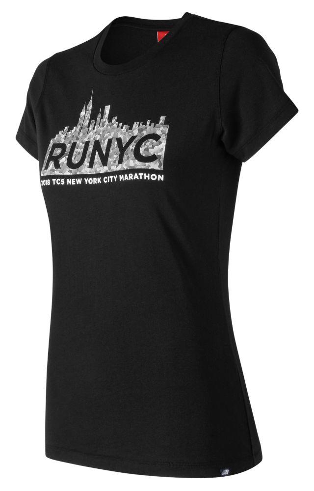Women's NYC Marathon NB Logo Tee