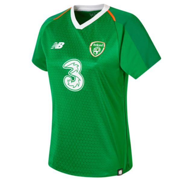 Women's FA Ireland Womens Home Short Sleeve Jersey
