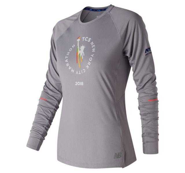 Women's 2018 NYC Marathon NB Ice 2.0 Long Sleeve