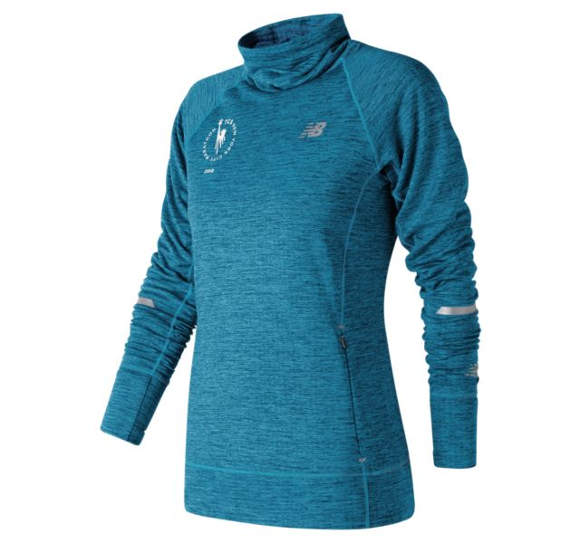 Women's 2018 NYC Marathon NB Heat Pullover