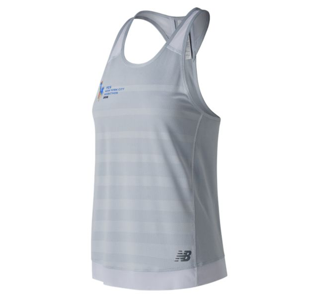 Women's 2018 NYC Marathon Q Speed Jacquard Tank