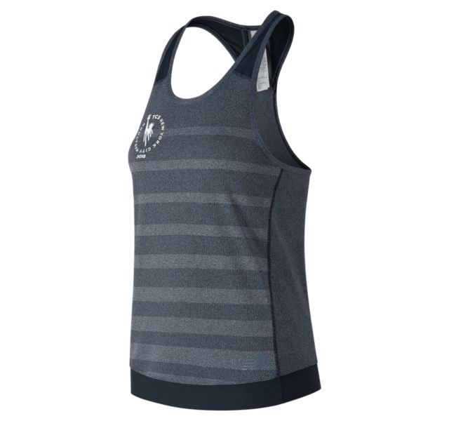 Women's NYC Marathon Q Speed Jacquard Tank