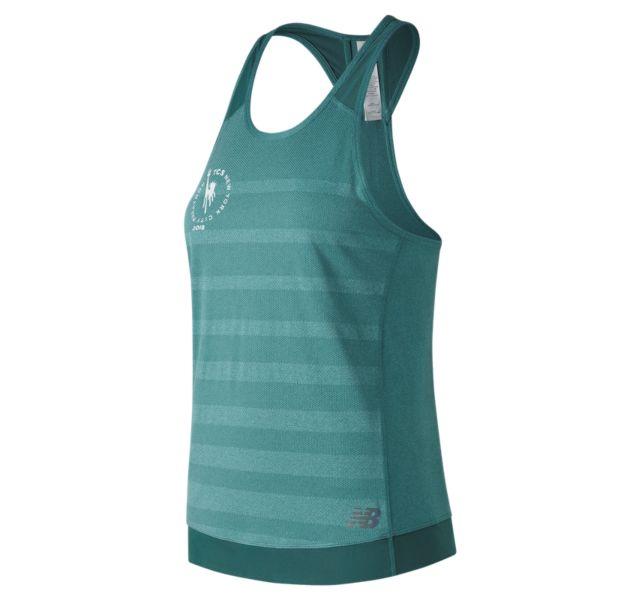 Women's 2018 NYC Marathon Q Speed Jacquard Tank