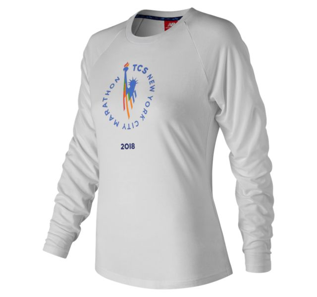 Women's 2018 NYC Marathon NB Athletics Long Sleeve
