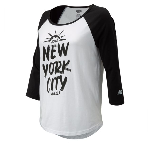 Women's 2018 NYC Marathon Crown Run 26.2 Shirt