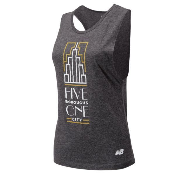 Women's NYC Marathon 5 Boroughs Tank