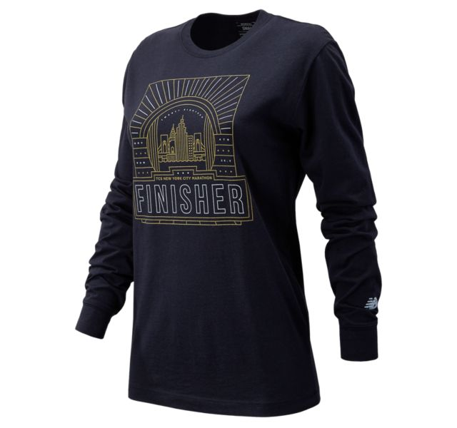 Women's NYC Marathon Finisher Long Sleeve