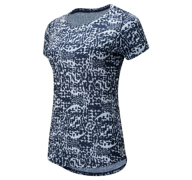 Women's Printed Accelerate Short Sleeve v2