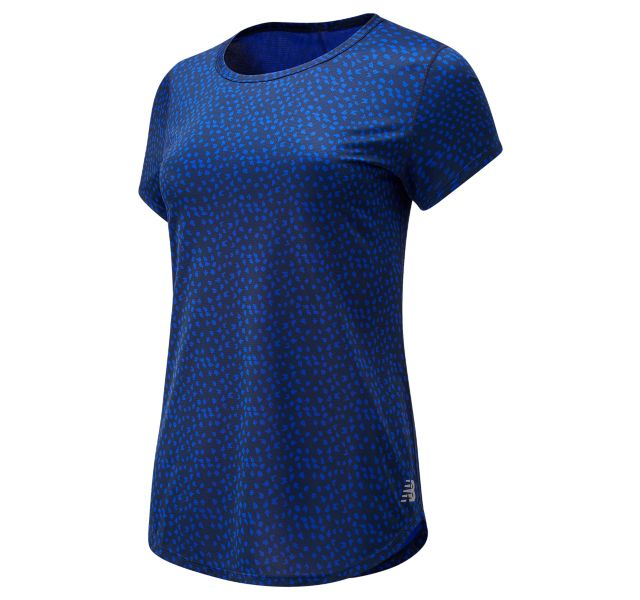 Women's Printed Accelerate Short Sleeve v2