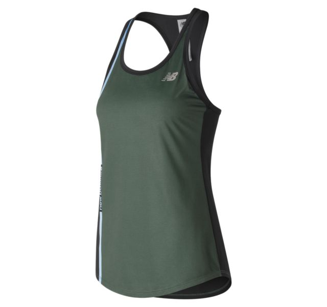 Women's Printed Accelerate Tank v2