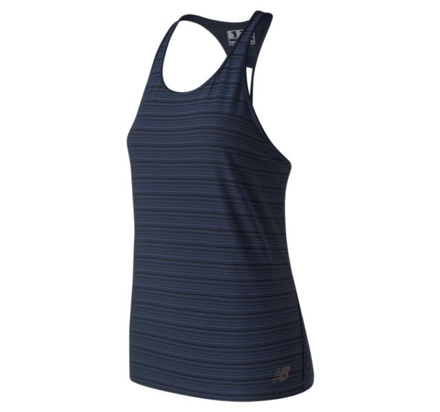 Women's Q Speed Breathe Striped Tank