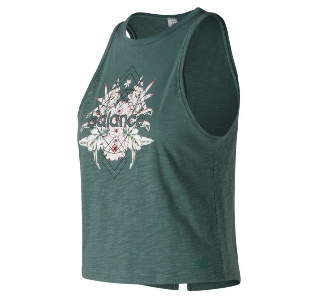 Women's Well Being Cropped Tank