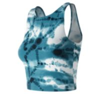Women's Printed Evolve Crop Tank