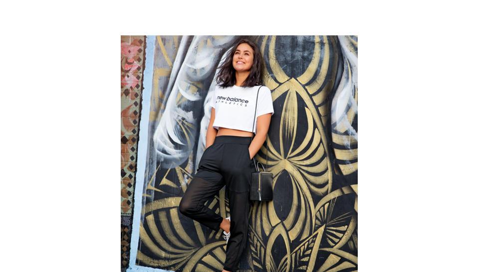 cd41209308 Camiseta New Balance NB Athletics Crop Tee Mujer   Comprar en Mexico