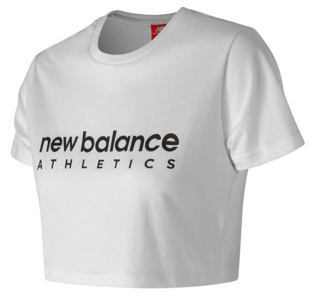 Women's NB Athletics Crop Tee