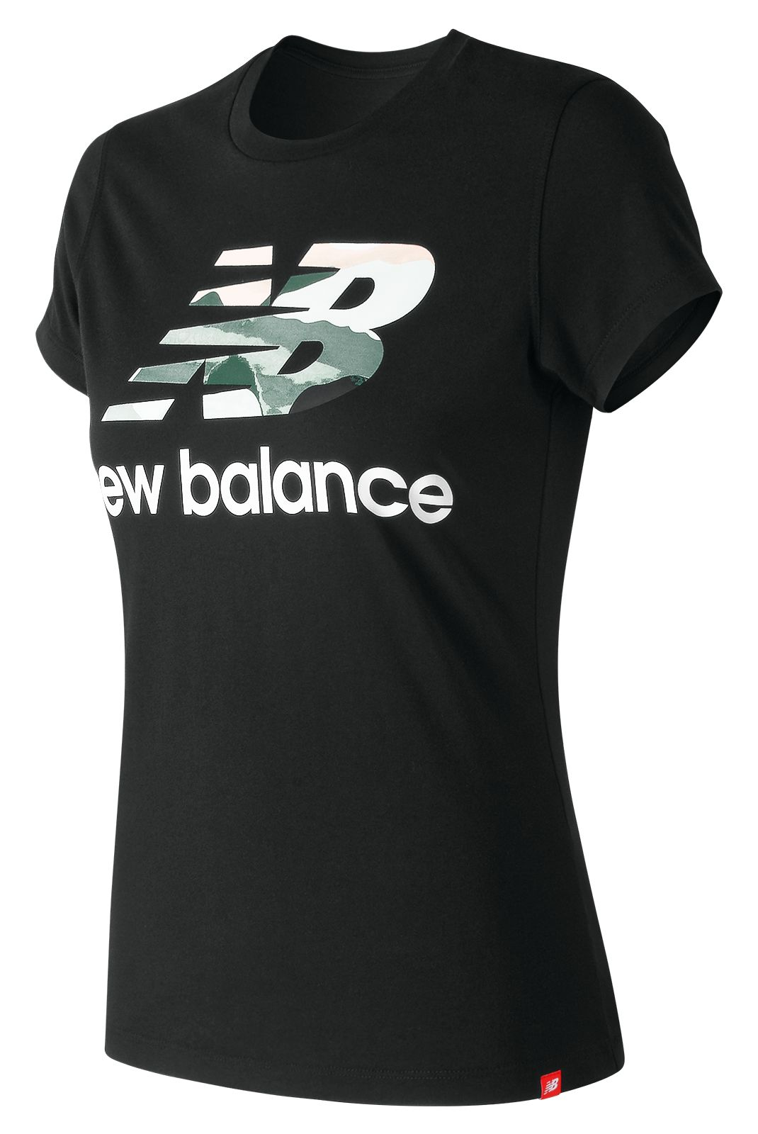 Women's Essentials Aqua Camo Tee