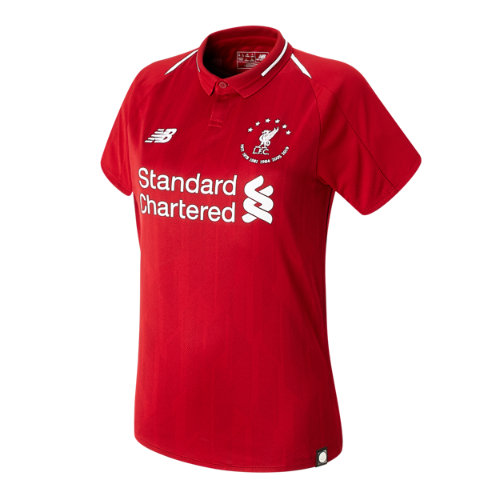 New Balance 930501 Women's Signature LFC 18/19 Home SS Jersey - Red/White (WT930501HME)
