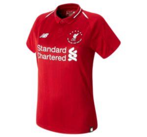 Women's LFC 6 Times 18/19 Home Womens Short Sleeve Jersey