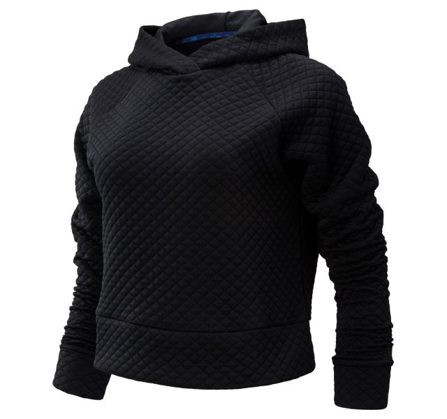 Women's 2019 NYC Marathon NB HEAT LOFT Crop Hoodie