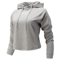 Deals on New Balance Women's Long Sleeve Relentless Crop Hoodie