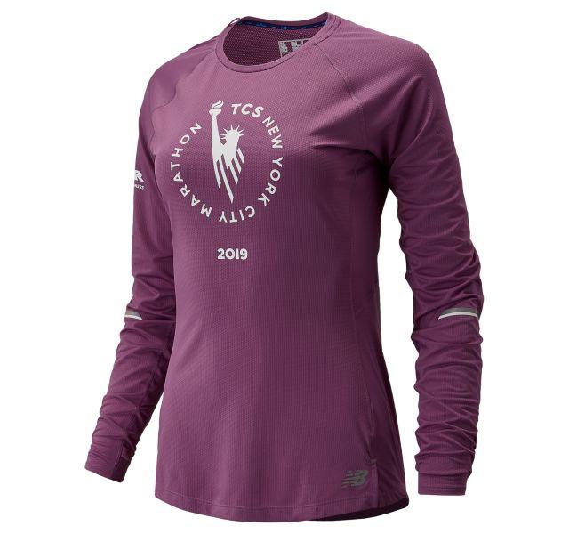 Women's 2019 NYC Marathon NB ICE Long Sleeve