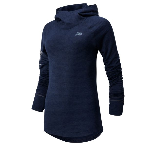 Women's 2020 United Airlines Half Heat Grid Hoodie
