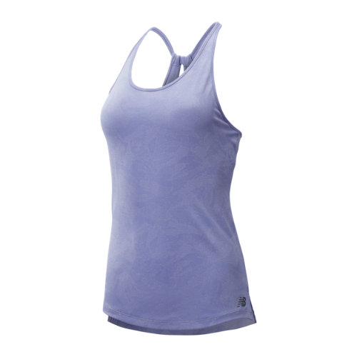 New Balance 93251 Women's Q Speed Breathe Tank - Purple (WT93251CA2)