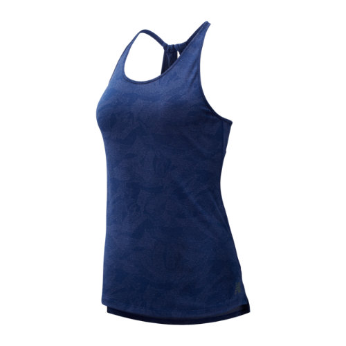 New Balance 93251 Women's Q Speed Breathe Tank - Blue (WT93251TBH)