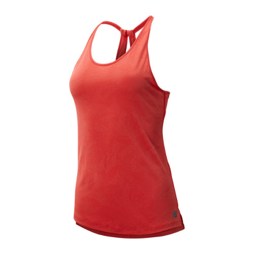 New Balance 93251 Women's Q Speed Breathe Tank - Red (WT93251VLR)