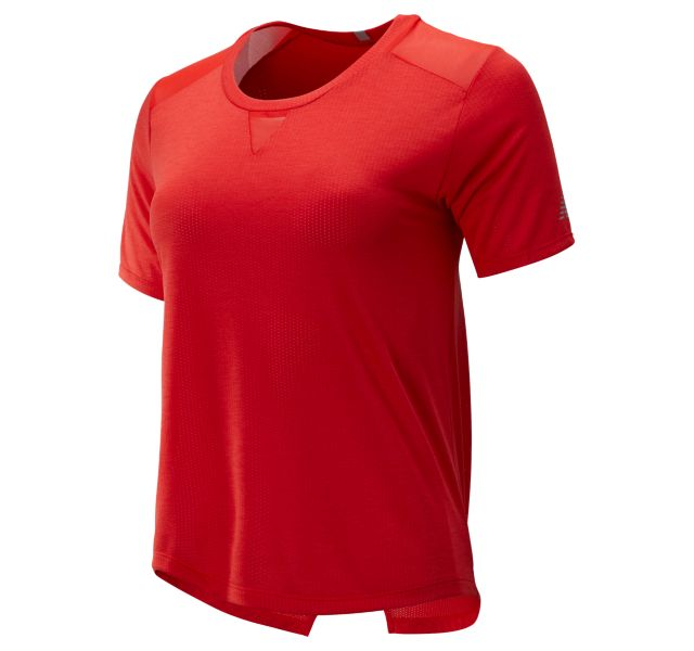 Women's Impact Run Mesh Short Sleeve