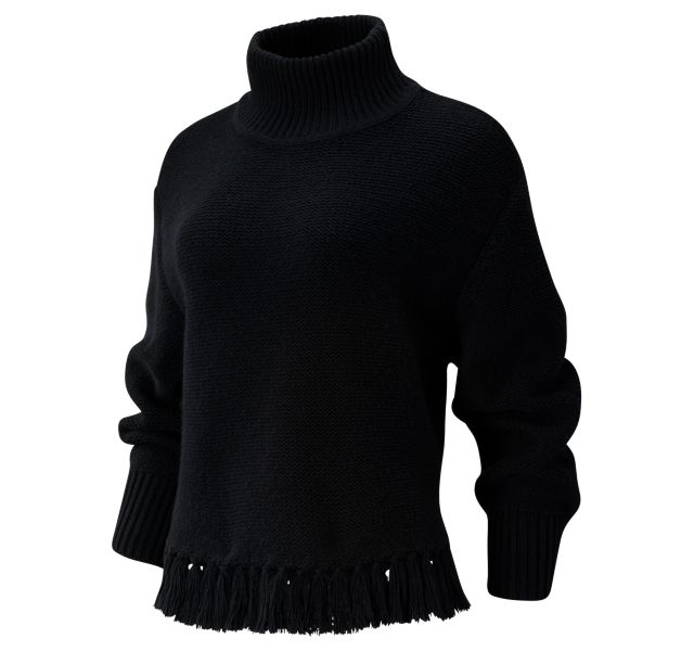 Women's Balance Fringe Sweater