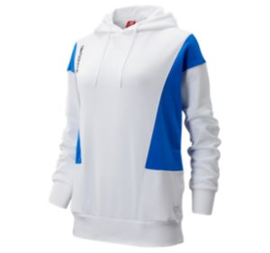 뉴발란스 우먼 NB 클래식 후디 - 화이트 New Balance Womens NB Athletics Classic Hoodie, WT93504WT