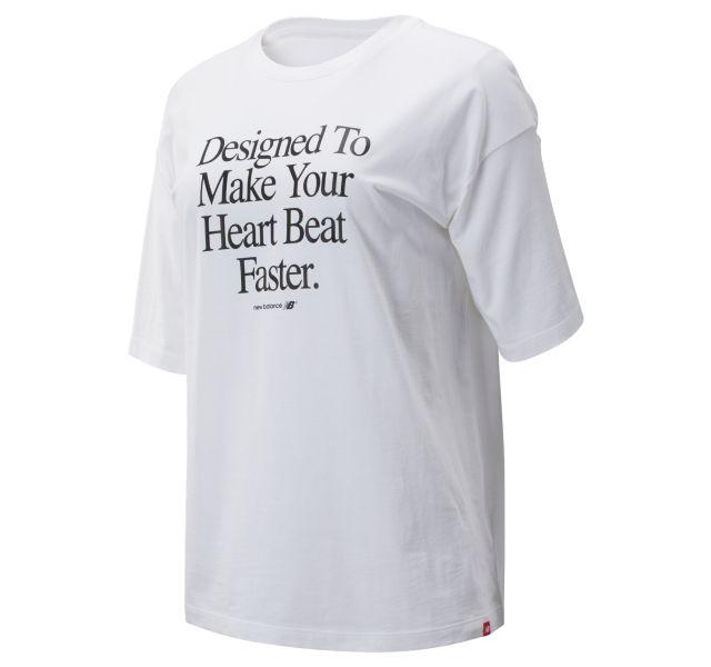 Women's NB Athletics Archive Heart Tee