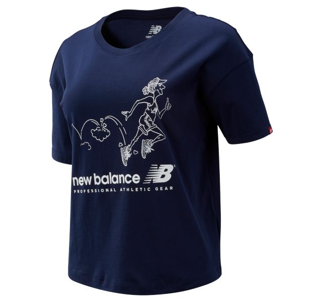 Women's NB Athletics Archive Throwback Tee