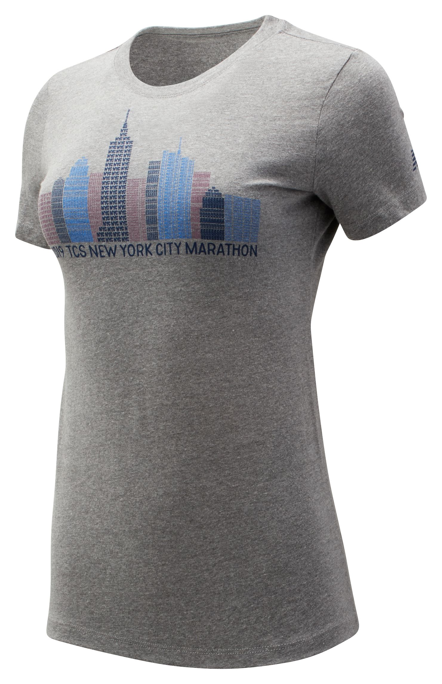 Women's 2019 NYC Marathon Skyline Tee