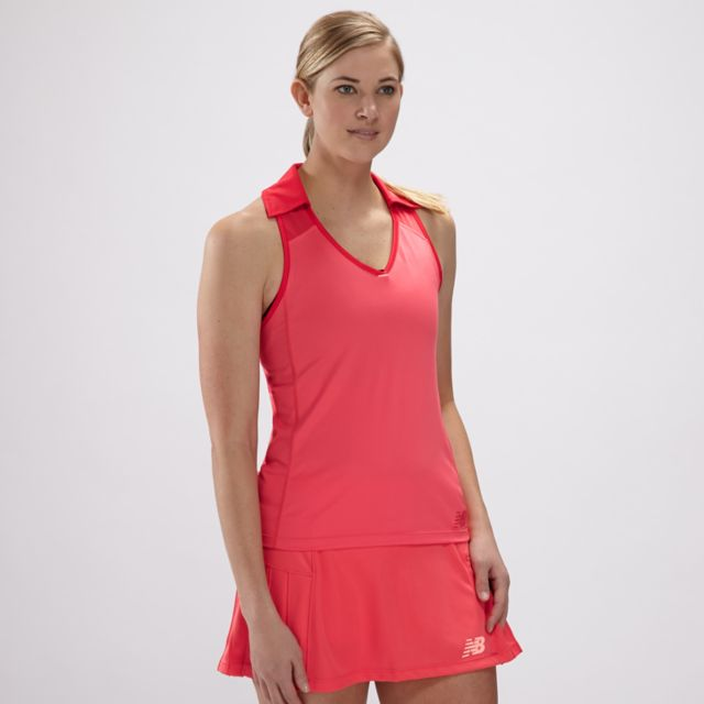 Womens Montauk Sleeveless Polo