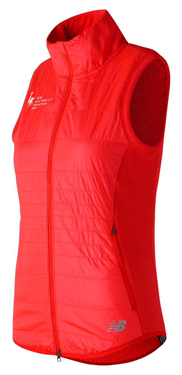 Women's NYC Marathon NB Heat Hybrid Vest